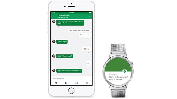 «Умные» часы с системой Android Wear получили поддержку iPhone