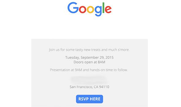 Официально: Google покажет LG Nexus 5X и Huawei Nexus 6P 29 сентября