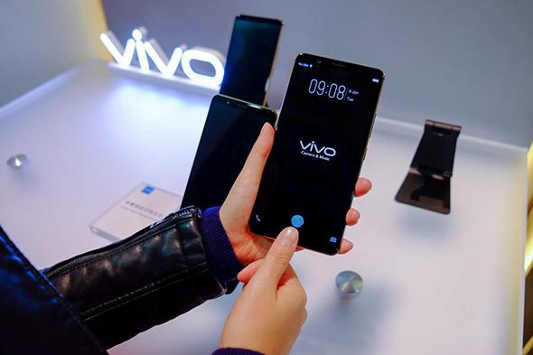 Vivo представила 1-ый вмире смартфон сосканером отпечатков вдисплее