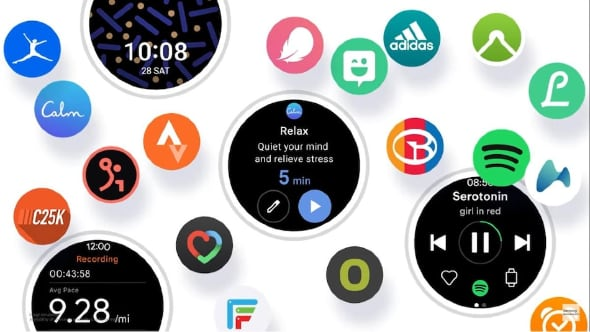 Samsung представила новую мобильную систему One UI Watch