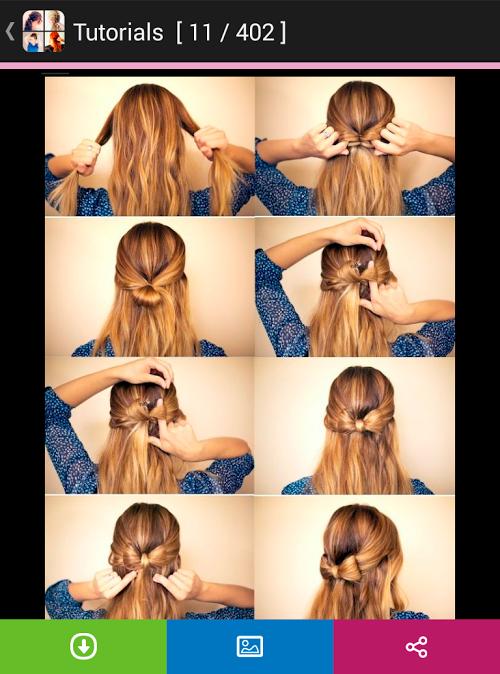 Как сделать причёску самой себе на средние волосы пошагово легко