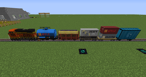 Trains Minecraft